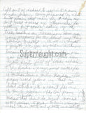 Charles Manson Incredible Letter