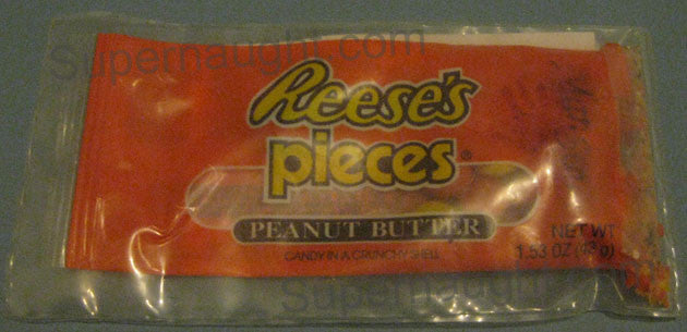 Charles Manson unfinished bag of Reeses pieces from prison visit 2002 - Supernaught True Crime Collectibles - 1