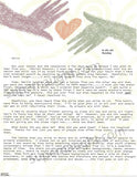 Kimberly McCarthy Two Page Letter Signed with Envelope Executed - Supernaught True Crime Collectibles - 1