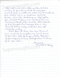 Michael Wayne McGray two page letter signed - Supernaught True Crime Collectibles - 2