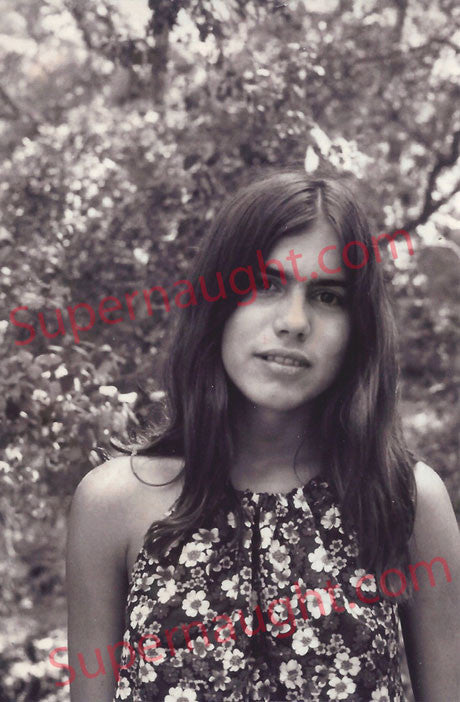 Ruth Ann Moorehouse Manson Family unpublished photo 1970s - Supernaught True Crime Collectibles