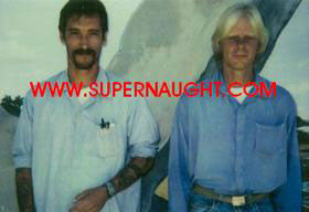 James Munro and Greg Miley 1990s prison photo - Supernaught True Crime Collectibles