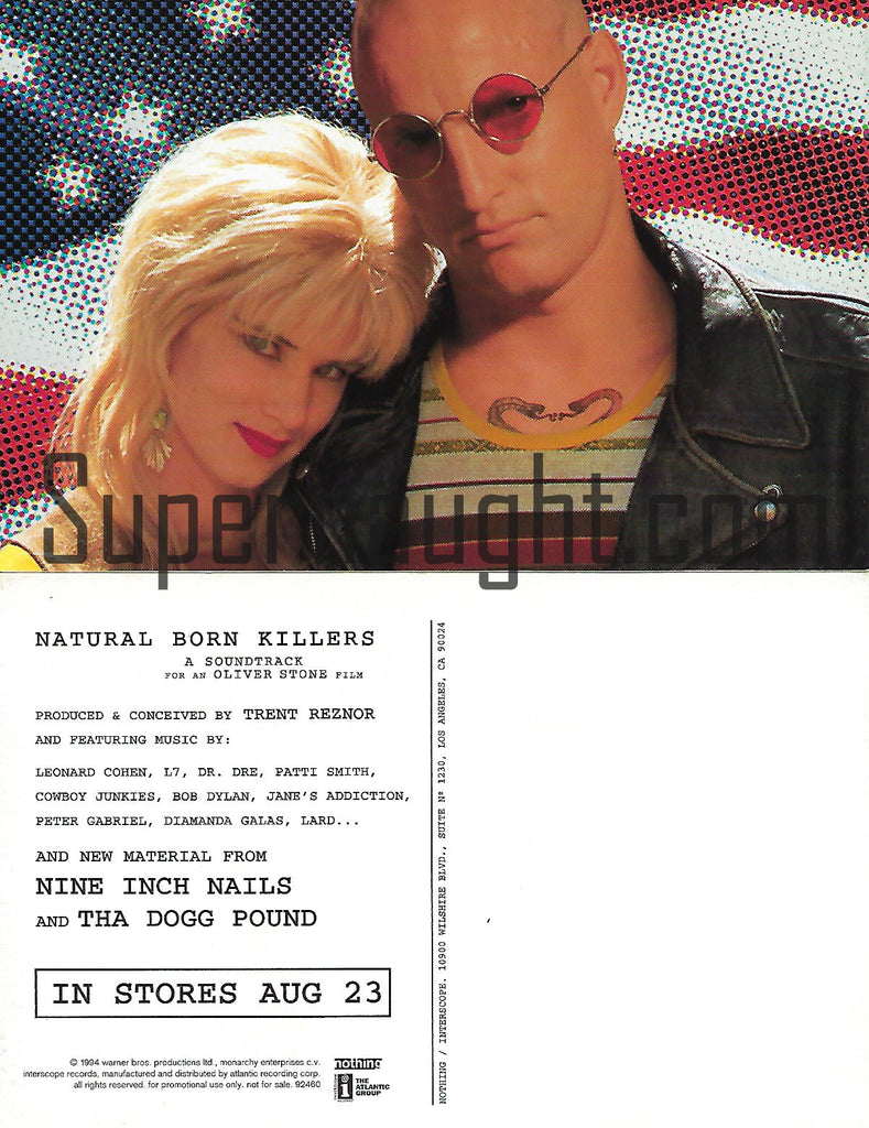 Natural Born Killers Postcard