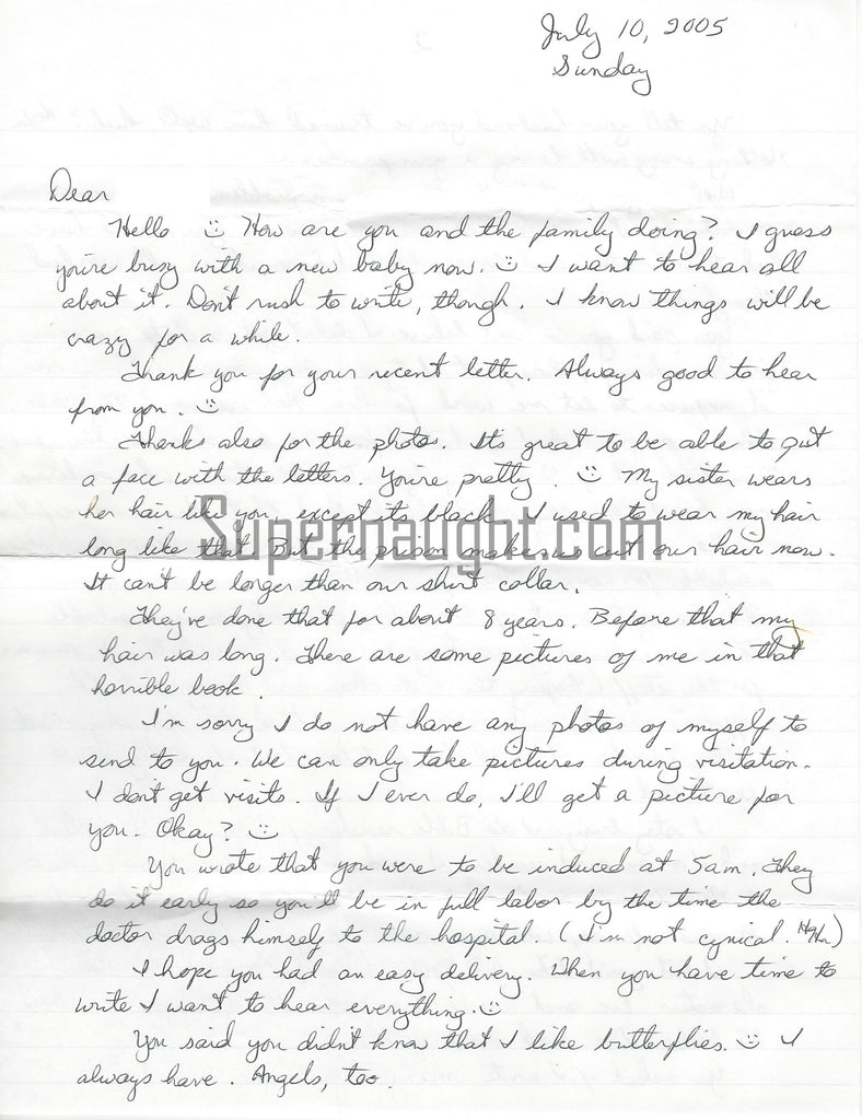 Judith Neelley Five Page Letter Signed