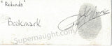Roy Norris Hand Painted Redondo Beach Bookmark Signed