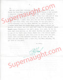Clifford Olson four page letter signed with envelope - Supernaught True Crime Collectibles - 2