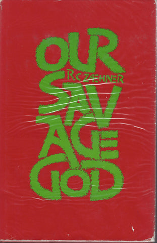 Our Savage God RC Zaehner Hardcover UK 1974 Manson Family