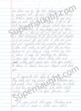 Scott Peterson 2005 three page letter and envelope set both signed - Supernaught True Crime Collectibles - 2