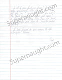 Scott Peterson 2005 three page letter and envelope set both signed - Supernaught True Crime Collectibles - 3