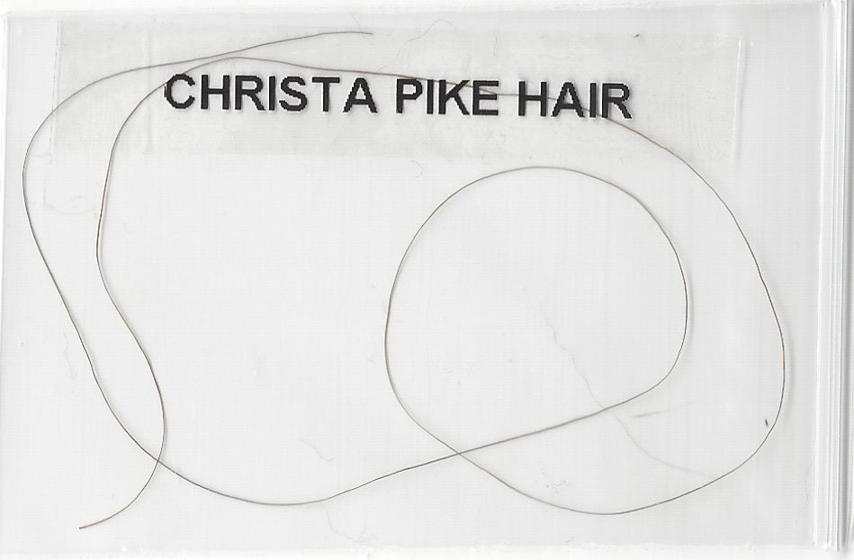 Christa Gail Pike Hair from Her Head Death Row