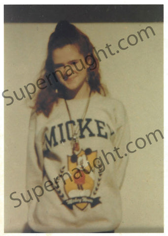Christa Pike Pre Arrest Photo Signed Includes Morbid Note - Supernaught True Crime Collectibles - 1