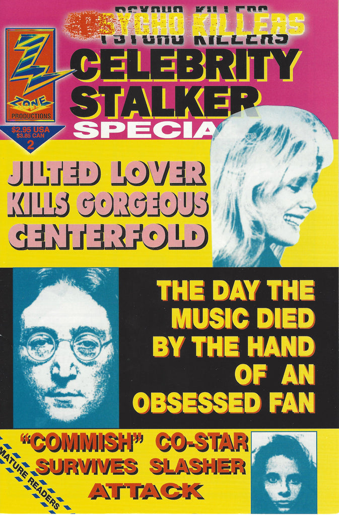 Psycho Killers Celebrity Stalkers 1992 Comic Book