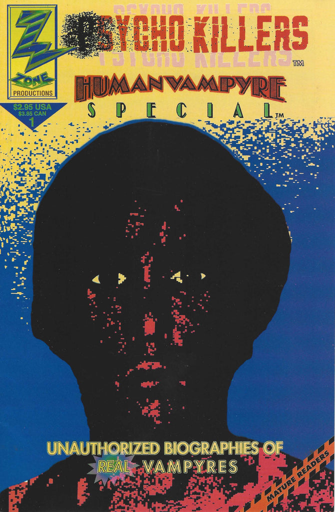 Richard Chase Psycho Killers Comic Book 1993