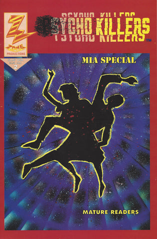 Psycho Killers MIA Special Vol 2 Comic Book 1st Print - Supernaught True Crime Collectibles