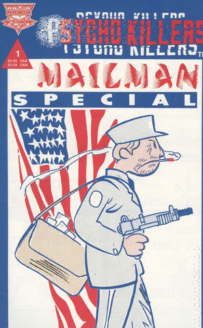 Psycho Killers Mailman Special Comic Book 1992