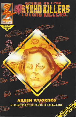 psycho killers comic book aileen wuornos female serial killer