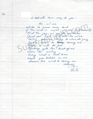 Richard Ramirez night stalker song lyrics signed