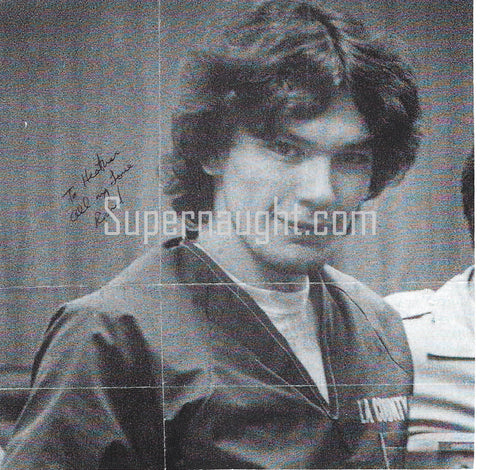 Richard Ramirez signed photograph los angeles court