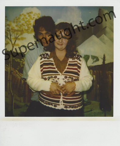 Richard Ramirez and Doreen Prison Polaroid Photo