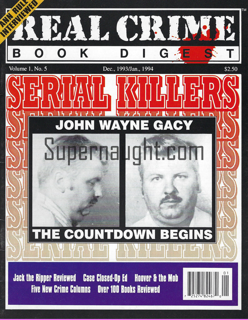 John Wayne Gacy Real Crime Book Digest
