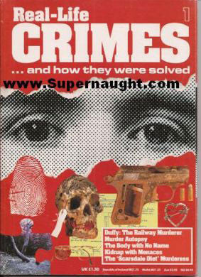 Real Life Crimes Duffy Railway Murder Scarsdale Diet Issue 1 - Supernaught True Crime Collectibles