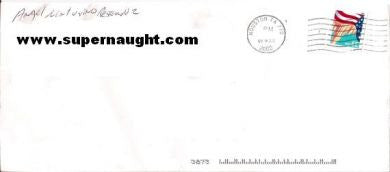 Angel Resendiz County Jail Envelope Signed in Full - Supernaught True Crime Collectibles