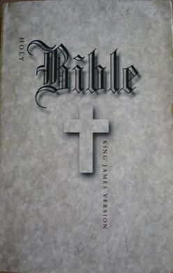 Angel Resendiz Holy Bible from county jail signed - Supernaught True Crime Collectibles