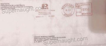 Angel Resendiz Envelope to his Family - Supernaught True Crime Collectibles