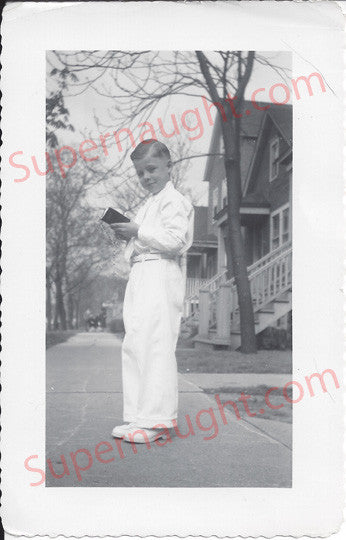 John Robinson Slavemaster original childhood photo - Supernaught True Crime Collectibles