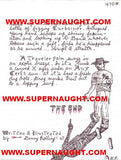 Danny Rolling Original Sicarius Manuscript with 5 Signed Envelopes - Supernaught True Crime Collectibles - 5
