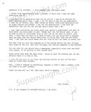 Robin Lee Row 2013 Letter and Envelope Set Both Signed - Supernaught True Crime Collectibles - 2
