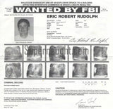 Eric Rudolph Original FBI Wanted Poster