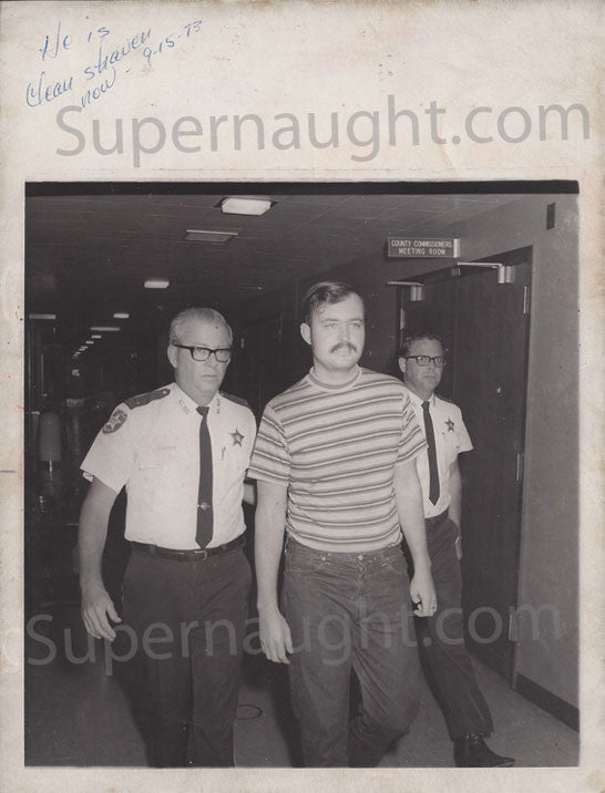 Gerard Schaefer May 1973 press photo - Supernaught True Crime Collectibles - 1