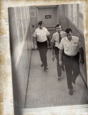 Gerard John Schaefer serial killer cop vintage press photo 1973