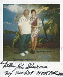 Arthur Shawcross 1999 Prison Polaroid Signed in Full - Supernaught True Crime Collectibles - 1