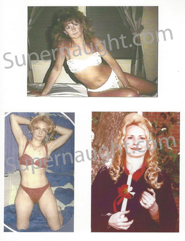 Pamela Smart Three Sexy Pre Arrest Photo Collage - Supernaught True Crime Collectibles