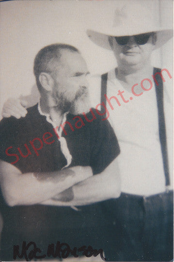 Roger Dale Smith and Charles Manson photo signed - Supernaught True Crime Collectibles - 1