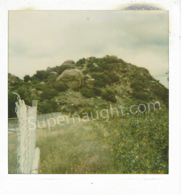 Spahn Ranch Polaroid Charles Manson Family Hideout - Supernaught True Crime Collectibles