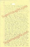 Richard Speck four page prison letter signed - Supernaught True Crime Collectibles - 1