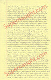 Richard Speck four page prison letter signed