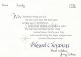 Gerald Stano Signed Death Row Christmas Card Executed