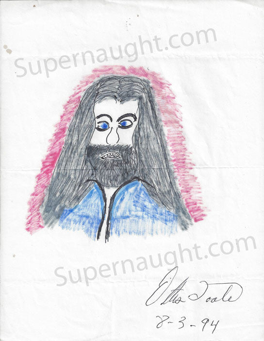 Ottis Toole Jesus Drawing