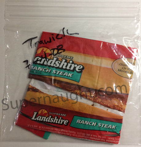 Jack Trawick Ranch Steak Sandwich Wrapper