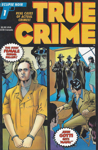 True Crime Comic Book Aileen Wuornos John Gotti Eclipse 1993