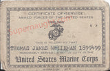 Thomas Walleman United States Marine Corp Signed