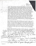 Charles Whitman copies of 1966 letters - Supernaught True Crime Collectibles - 2