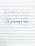 charles andy williams signed letter santana high school shooter