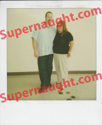 Anthony Wolfe aka Tony Smith Signed Prison Polaroid - Supernaught True Crime Collectibles