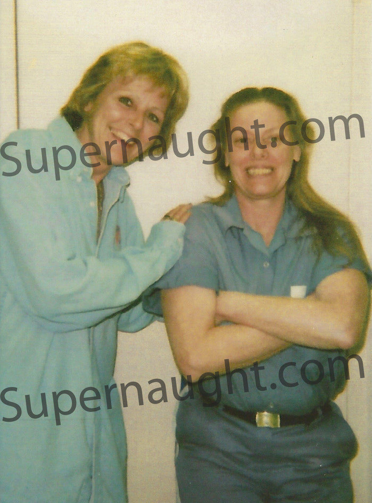 Aileen Wuornos Death Row Photograph