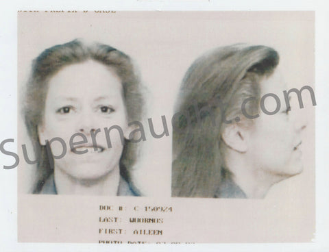 aileen carol wuornos florida prison mugshot rare photo female serial killer